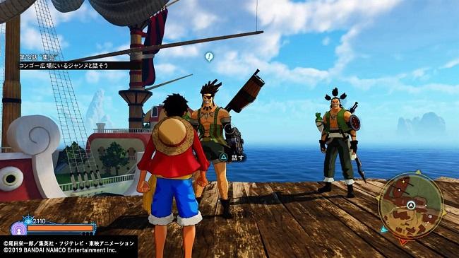 ワンピースワールドシーカー サイドミッション「変わらない海」海賊