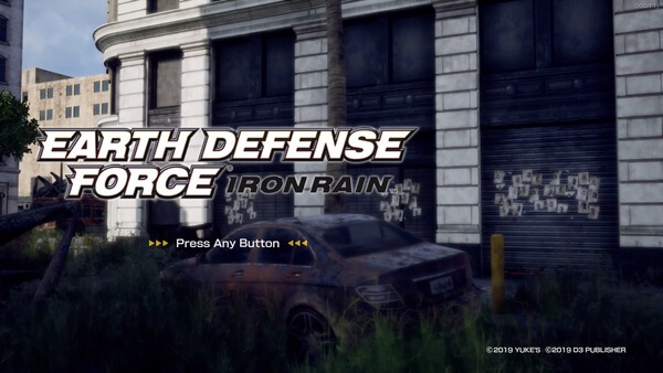 EARTH_DEFENSE_FORCE_IRON_RAIN_Easy_Normal_Weapon