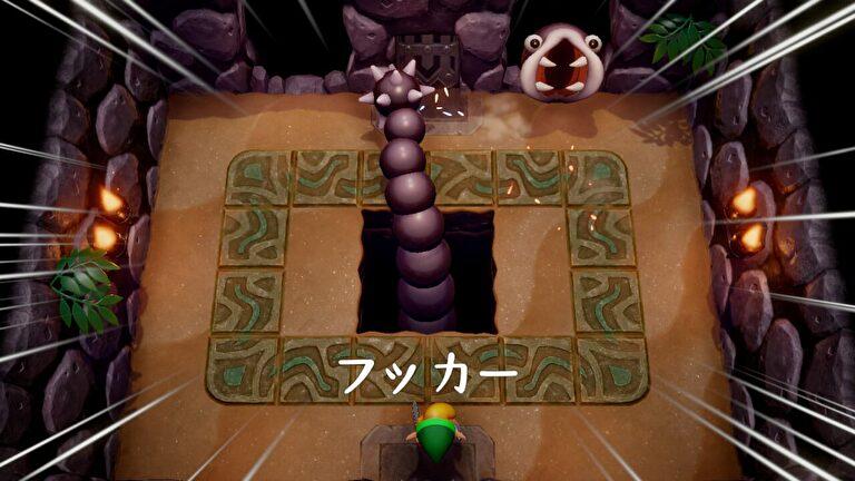 【ゼルダの伝説 夢をみる島】フッカーの倒し方【リメイク】
