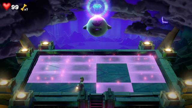 【ルイージマンション3】15階のボス「キングテレサ」の倒し方【ストーリー】画像1
