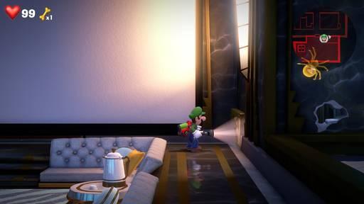 【ルイージマンション3】15階 攻略の流れ【ストーリー】画像1