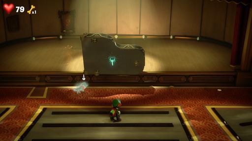 4階 ルイージマンション 【ルイージマンション3 攻略】4階ホールフロア・ピアニスト(ピアノ)のボスオバケの倒し方