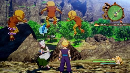 【ドラゴンボールZ カカロット】サブストーリー「またも襲われている村人」攻略 画像1