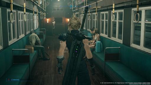 【FF7リメイク】CHAPTER5「迷宮の犬」攻略 四番街行き列車 画像1