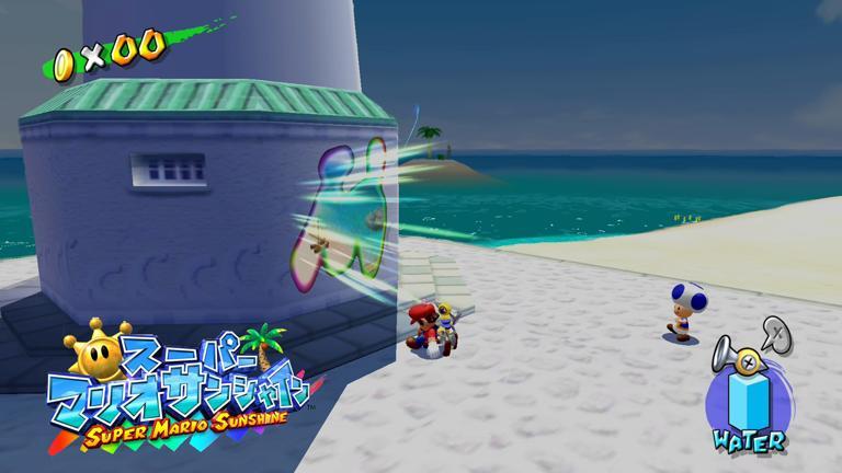 【スーパーマリオサンシャイン】マンマビーチ攻略【ストーリー】